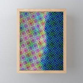 happy summer Framed Mini Art Print