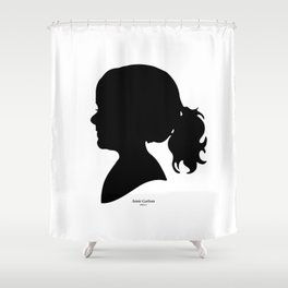 Annie Carlson Silhouette Shower Curtain