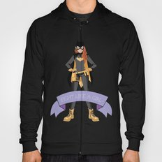 Fight Like a Girl: Batgirl Hoody