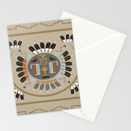 American Native Pattern No. 115 Stationery Cards