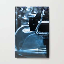 Jazz Quartet Metal Print