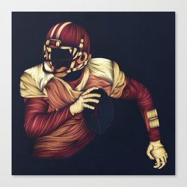 The Quarterback Canvas Print