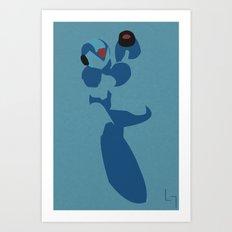 Megaman X Art Print