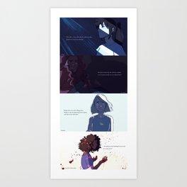 The Lunar Chronicles Art Print