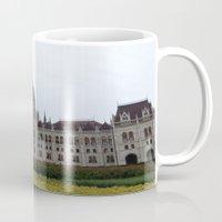 budapest Mugs featuring Budapest  by Katarina