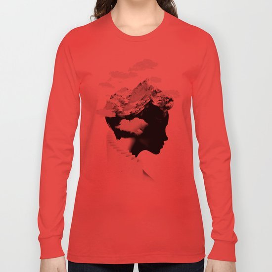 It's a cloudy day Long Sleeve T-shirt