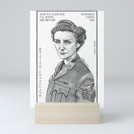 RAF Flight Sergeant Hancock Mini Art Print