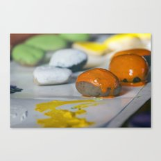 Game Pieces Canvas Print