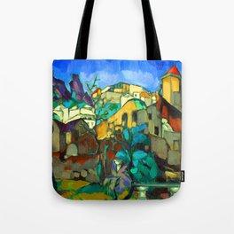 Konrad Magi Capri Landscape Tote Bag