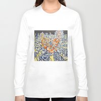 inception Long Sleeve T-shirts featuring Concerted Inception by Eric Walker