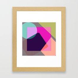 Late 80's Framed Art Print