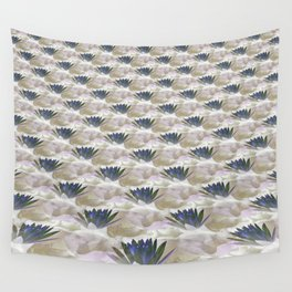 Lilies in the Clouds Fractal - IA Wall Tapestry