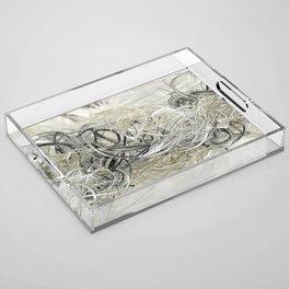 Shiver Acrylic Tray