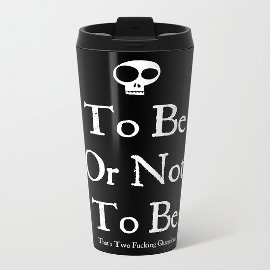 Bard Grammar Metal Travel Mug