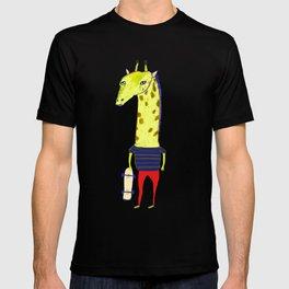 Giraffe Dude. T-shirt