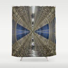 Deeper flood Shower Curtain
