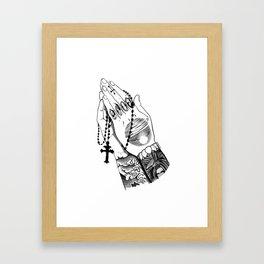 Mac Miller Momento Mori Framed Art Print