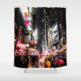 New York City Night II Shower Curtain