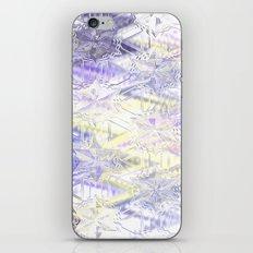 Cristal stars, pastel glass iPhone & iPod Skin