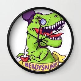 Nerd, Nerd, Nerd Wall Clock