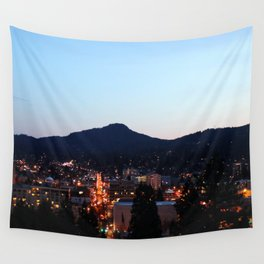 Eugene Oregon from Skinner Butte Wall Tapestry