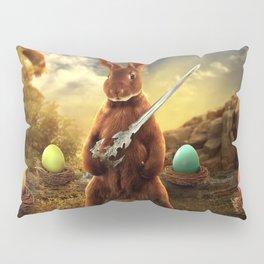 rabbit fighter Pillow Sham