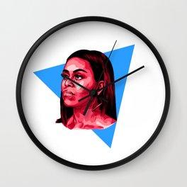 POC - Michelle Wall Clock