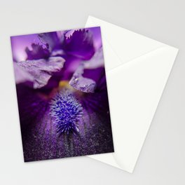 Stigma of Iris Nature / Floral / Botanical Photograph Stationery Cards