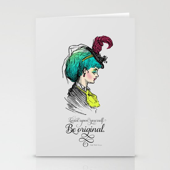 Be original. Stationery Cards