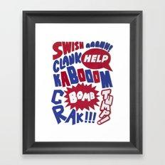 Superpop Framed Art Print