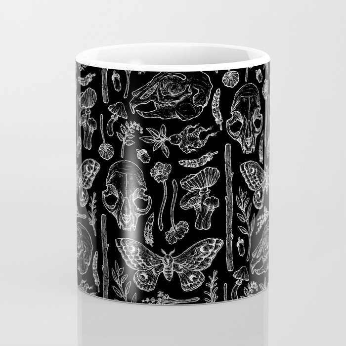 Witchcraft II [B&W] Coffee Mug