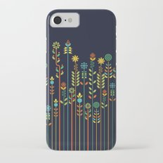 Overgrown flowers iPhone 7 Slim Case