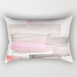 [161216] 18. Slices|Watercolor Brush Stroke Rectangular Pillow