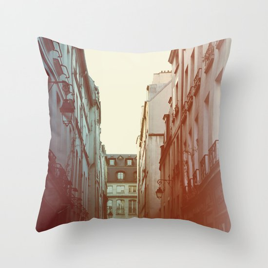 Lamplight Throw Pillow