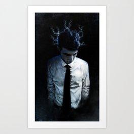 Electrified Art Print