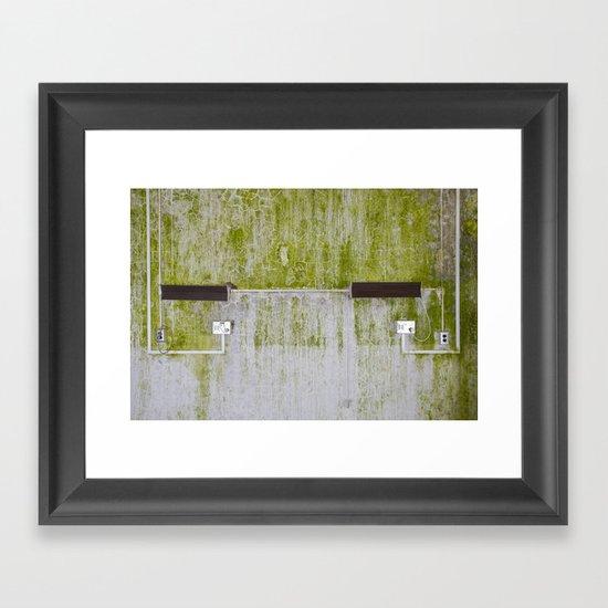 Side by Side Framed Art Print