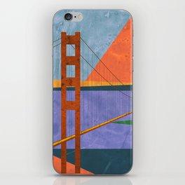 Golden Gate Bridge II iPhone Skin