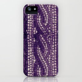 stone tile 4378 ultra violet iPhone Case
