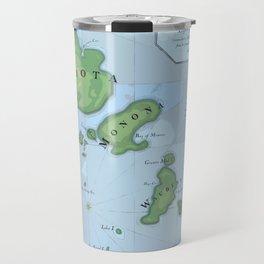Dane Archipelago in Blue Travel Mug