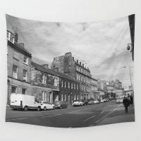 edinburgh Wall Tapestries featuring Leith Edinburgh 1 by RMK Creative
