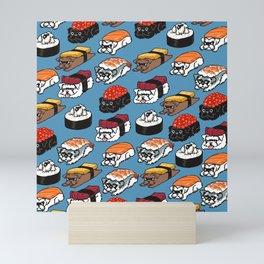Sushi Schnauzer Mini Art Print
