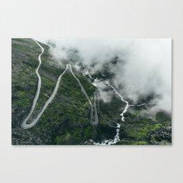 Trollstigen Canvas Print