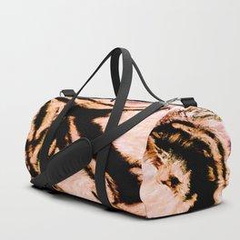 marble Caramel Duffle Bag