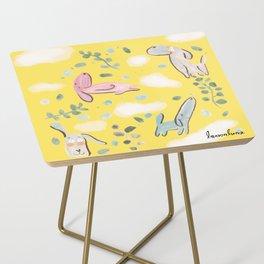 cozy sunday mood Side Table