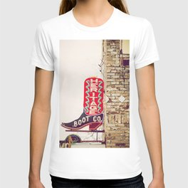 Downtown Austin Texas Neon T-shirt
