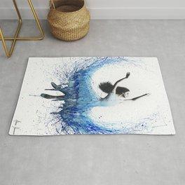 Blue Wave Dancer Rug