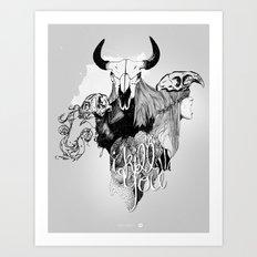 I Kill You Art Print
