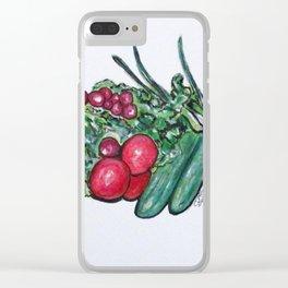 Freshly Uncut Salad Clear iPhone Case