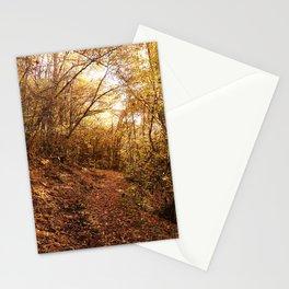 oak forest  Stationery Cards