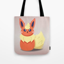 Evolution Bobbles - Flareon Tote Bag